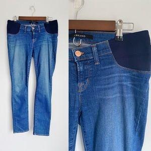 J Brand Mama J Skinny Maternity Jeans in Pacifica